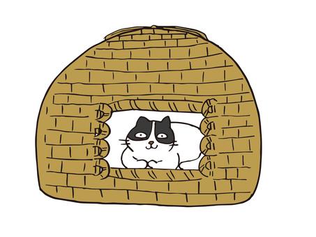 猫ちぐら02