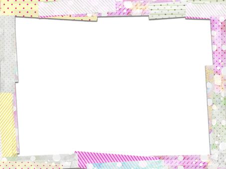 Colorful sticky note frame 4