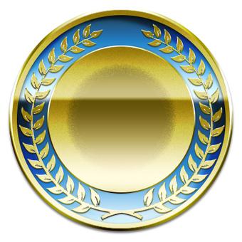 Medal (blue)