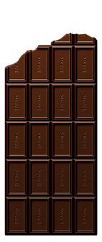 깨진 초콜릿 (세로)