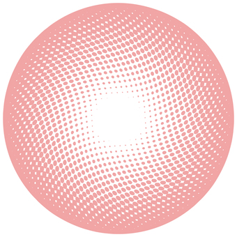 ドットグラデーション5・ピンク