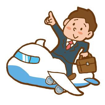 비행기 사업가
