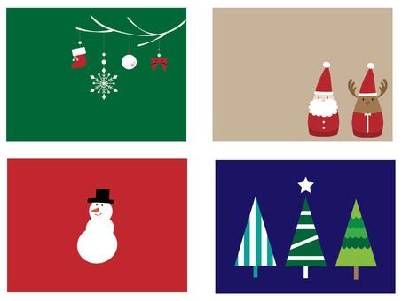Christmas frame set ver 08
