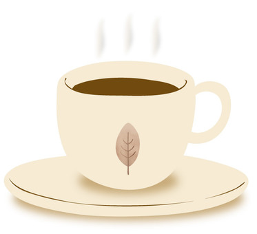 커피 컵 & 받침 1