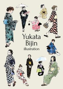 Yukata beautiful illustration