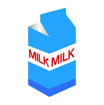 Milk (blue)