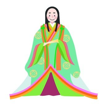 Noble women of the Heian period (2)
