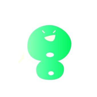 8 number