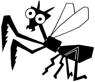 Bug Illustration · Mantis