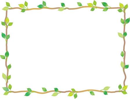 Leaf branch frame