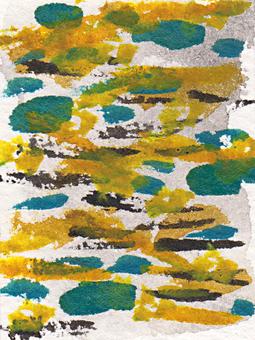 水彩 水彩画 柄 素材