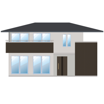 Detached house illustration 12