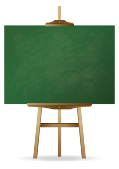 Menu signboard (blackboard 1)