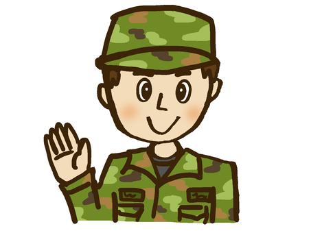Self-defense officer