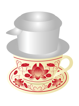 Vietnamese coffee hot
