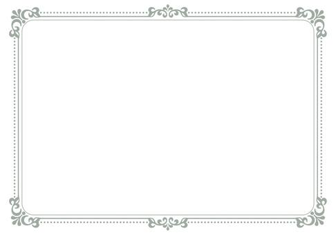 Simple decorative frame 2