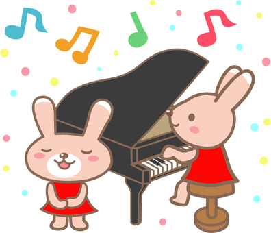 Mr. Usagi, color choir festival