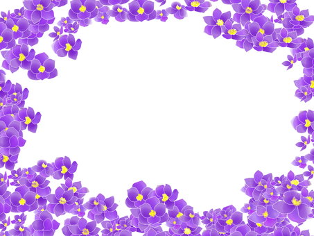 Longa grass purple frame