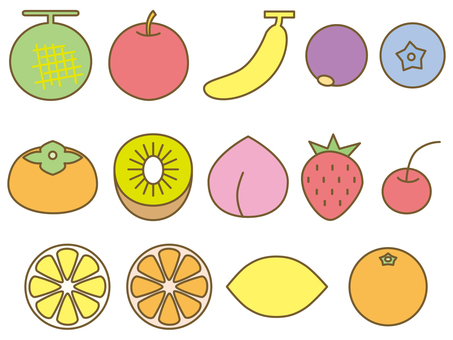 Fruit set 1