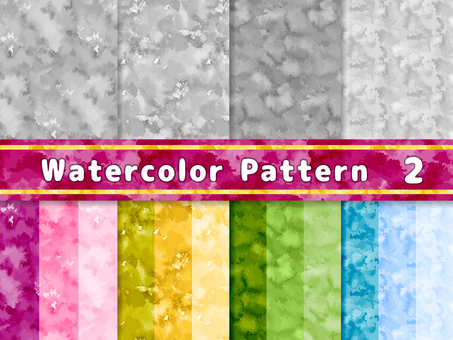 Watercolor texture pattern 2