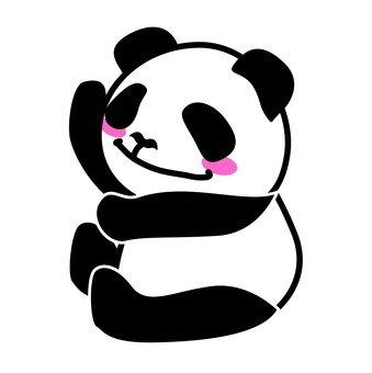 Dancing panda