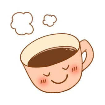 Smile Mug and Coffee