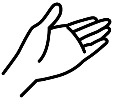 Hand line drawing 3