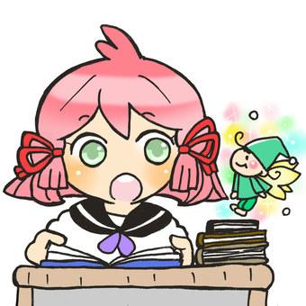 Fairy of reading
