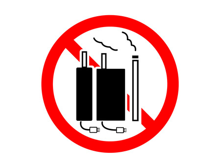 Non-smoking (paper and rechargeable heating) mark