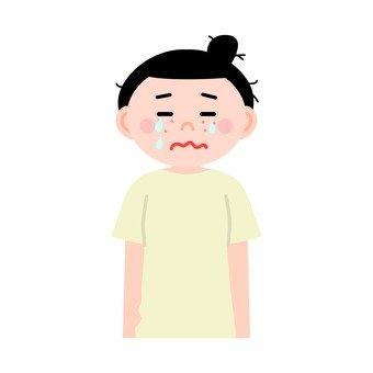 피부염의 여성 5