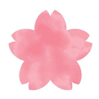 櫻花水彩圖標/框架4