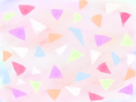 Colorful triangular background 3
