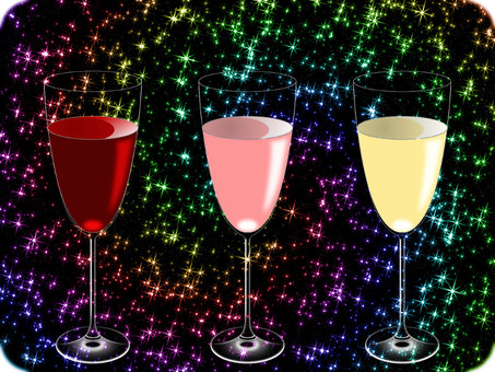 3 kinds of wine