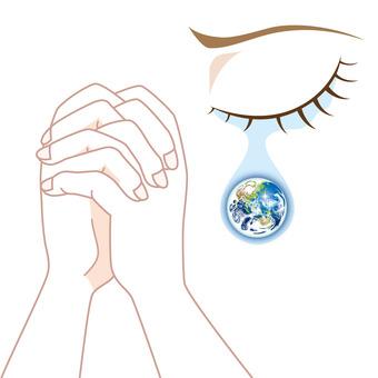 World peace-prayer of tears