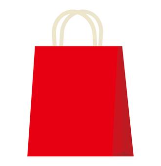 Paper bag (red)