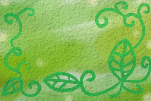 녹색 메시지 카드