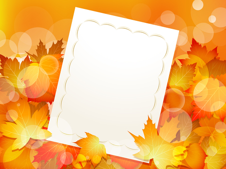 ai Invitations and maple background · wallpaper · frame