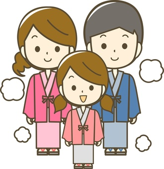 Families of hot spring areas