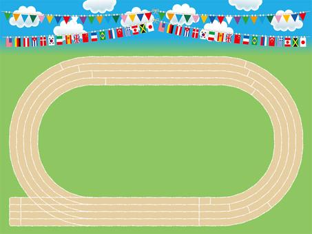 Athletic meeting / ground