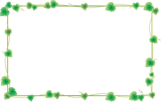 Ivy leaf frame