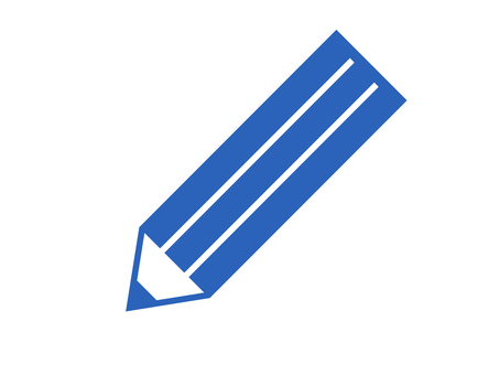 Pencil stationery writing instrument blue
