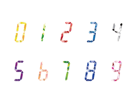 Digital number