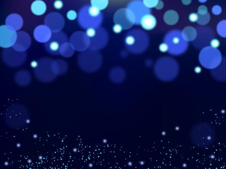 Night illumination blue stage lighting background