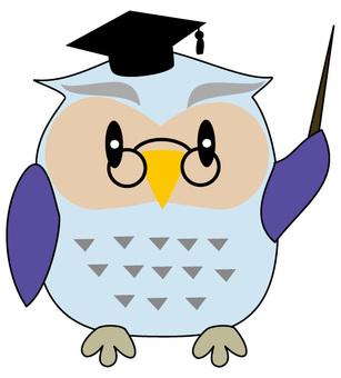 貓頭鷹博士1