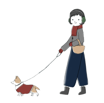 Walk with a dog