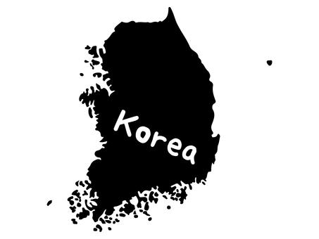 韓国シルエット