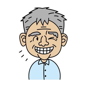 爺爺_阿尼瑪莉的表情