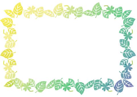 Spring frame fresh green 9