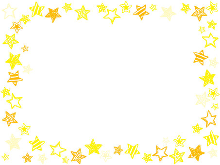 Star frame yellow