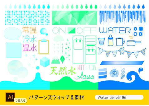 Water server material